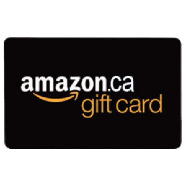 10 $ Amazon.ca Gift Card